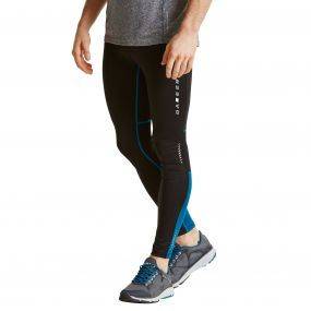 Men's Forfeit Running Tights Black/Titan