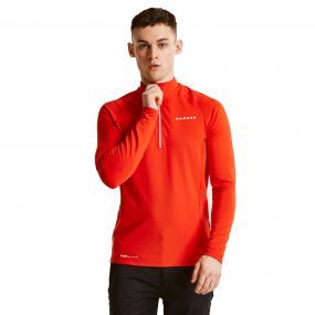 Men's Interfuse Core Stretch Midlayer Seville Red