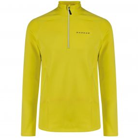 Men's Interfuse Core Stretch Midlayer Neon Spring