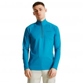 Men's Fuseline III Core Stretch Midlayer Niagra Blue
