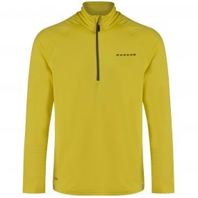 Men's Fuseline III Core Stretch Midlayer Neon Spring