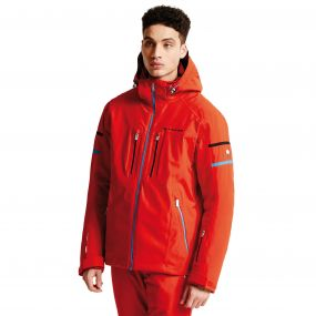 Men's Carve It Pro II Ski Jacket Seville Red