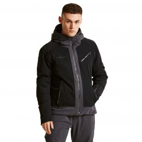 Men's Overshadow Black Label Ski Jacket Black