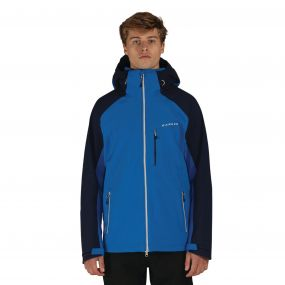 Men's Vigilence II Waterproof Shell Jacket OxfordB/PeaB