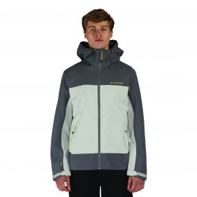 Men's Excluse Waterproof Shell Jacket Iceber/AlGry