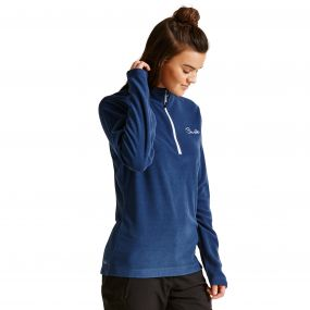 Women's Freeze Dry II Half Zip Fleece Admiral Blue
