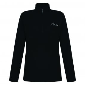 Women's Freeze Dry II Half Zip Fleece Black