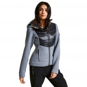 Women's Blackout Ski Midlayer Sweater Mid Grey