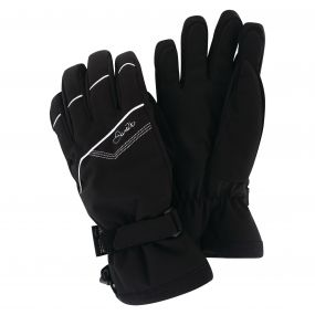 Women's Gapple Ski Gloves Black