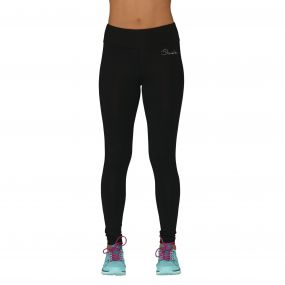 Women's Reasoned Running Tights Black