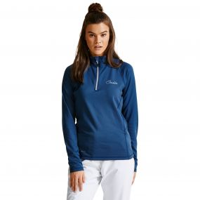 Women's Involve Core Stretch Midlayer Admiral Blue