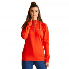 Women's Loveline III Core Stretch Midlayer HighRisk Red