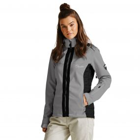 Women's Verify Softshell Midlayer Jacket Silver Flash