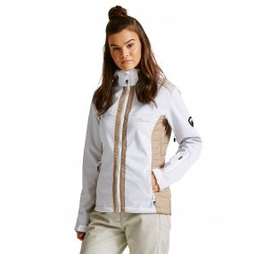 Women's Verify Softshell Midlayer Jacket White