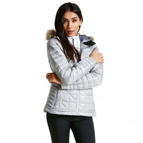 Women's Endow II Luxe Ski Jacket Silver