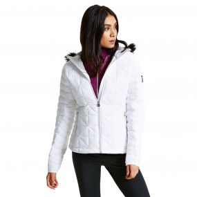 Women's Endow II Luxe Ski Jacket White