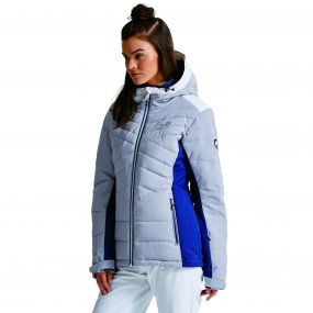 Women's Illation II Ski Jacket Silver Flash