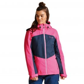 Women's Beckoned II Ski Jacket CybrPk/Admrl