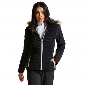 Women's Plica Luxe Ski Jacket Black