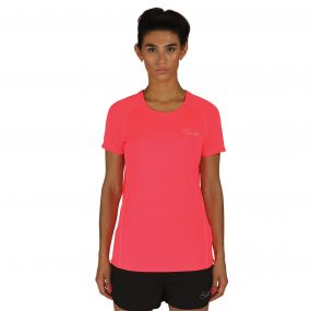 Women's Three Strikes T-Shirt  Neon Pink