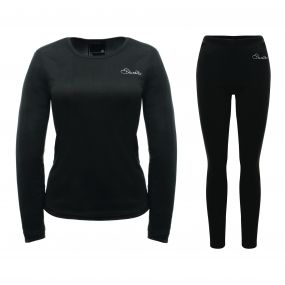 Women's Insulate Base Layer Set Black