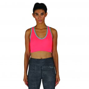 Women's Warm Up Base Layer Bra Fiery Coral