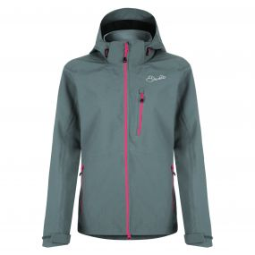 Women's Veracity II Waterproof Shell Jacket Aluminum Gry