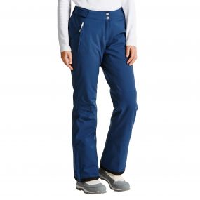 Women's Figure In Ski Pants Admiral Blue