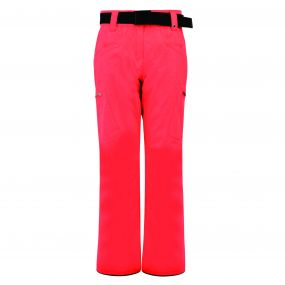 Women's Free Scope Ski Pants Fiery Coral Cire Print