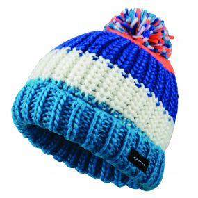 Kids Lineation Beanie Hat Oxford Blue