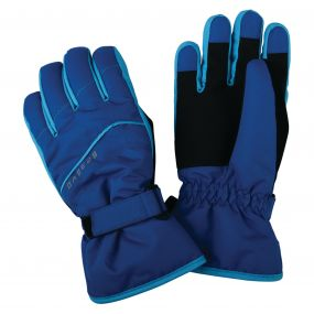 Kids Flag Down II Ski Gloves Oxford Blue