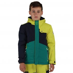 Rouse Up Ski Jacket Blue Neon Forest