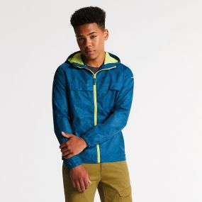 Kids Testify Waterproof Jacket Kingfisher Blue