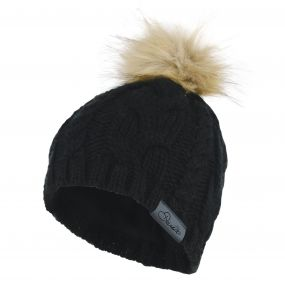 Impression Beanie Black