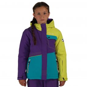 Craze Ski Jacket Blue Pink