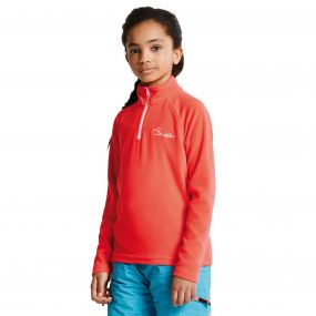 Kids Freeze Jam II Fleece Fiery Coral