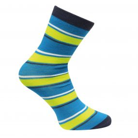 Footloose III Ski Sock Methyl Blue