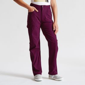 Kids Proficiency Trousers Blackcurrant Blue
