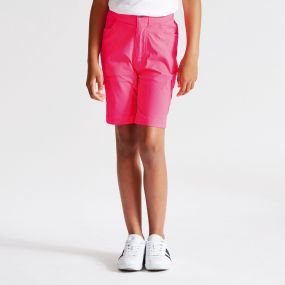 Kids Accentuate Shorts Neon Pink