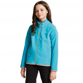 Kids Derive II Softshell Jacket Aqua