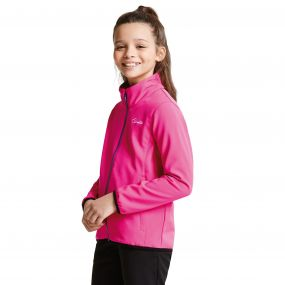 Kids Derive II Softshell Jacket Cyber Pink