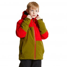 Kids Obverse Junior Pro Ski Jacket Crdmom/Sevil