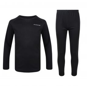 Kids Cool Off II Base Layer Set Black