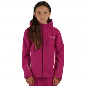 Kids Resonance II Waterproof Shell Jacket Camellia Pur