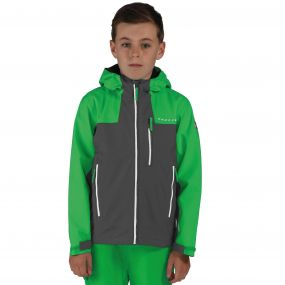Kids Resonance II Waterproof Shell Jacket Fairway/Ebny