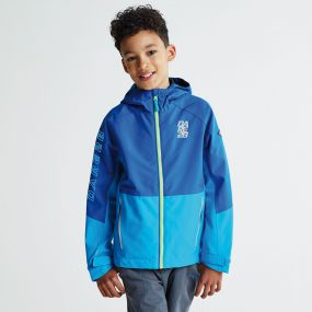 Kids Modulate Jacket National Blue Fluro Blue