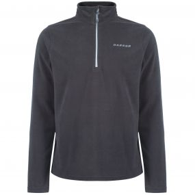 Men's Freeze Dry II Half Zip Fleece Ebony Grey