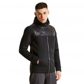 Men's Blackwash Black Label Ski Midlayer Sweater Black