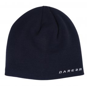 Prompted Beanie Ebony Grey