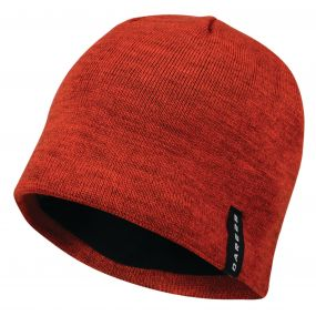 Men's Prompted Beanie Hat Seville Red